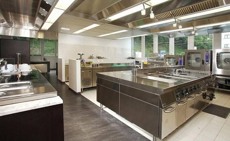 厨房设备布局的基本原则
